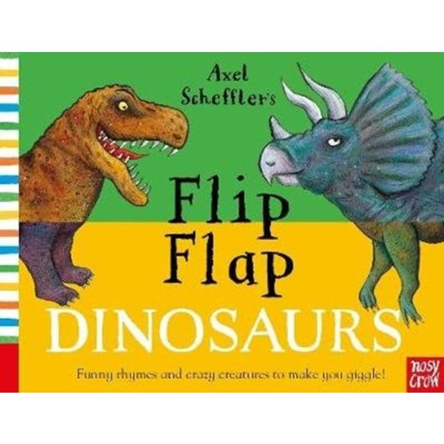 Flip Flap Dinosaurs Board Book - Little Whispers