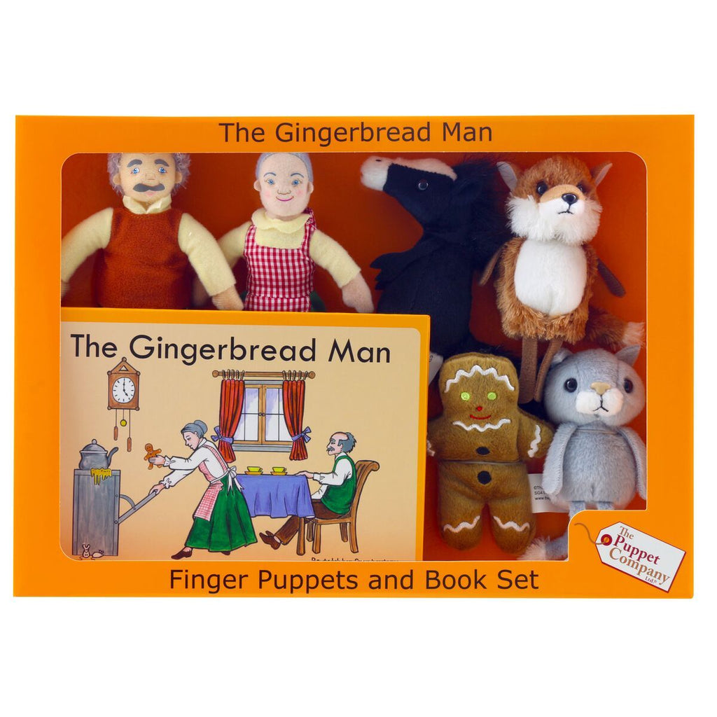 Gingerbread Man Story Set - Little Whispers