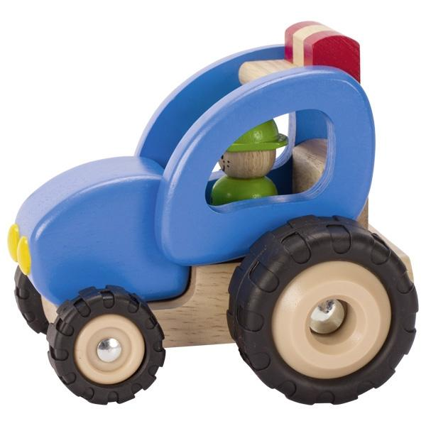 Goki Wooden Tractor - Little Whispers