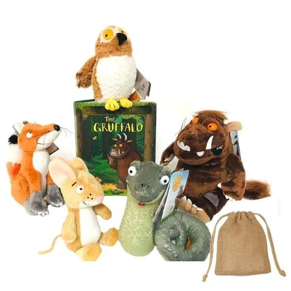 Gruffalo Soft Toy Story Sack - Little Whispers