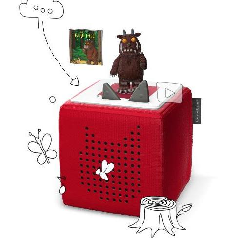 Gruffalo Toniebox And Soft Toy Offer - Little Whispers