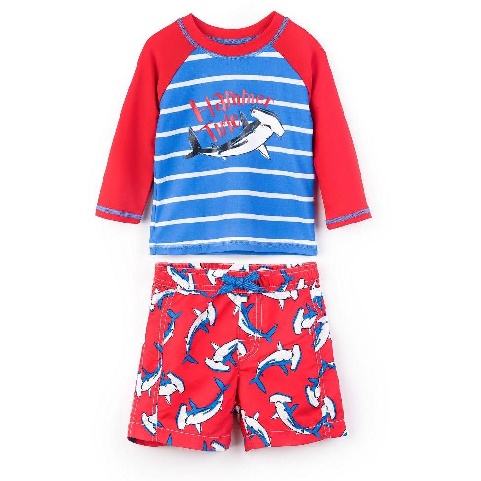 Hatley Boys Swim Trunks And Top - Little Whispers