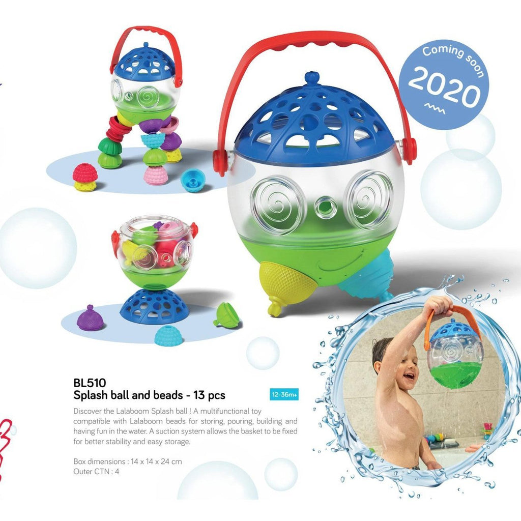 Janod Lalaboom Splash Ball and Beads - Little Whispers