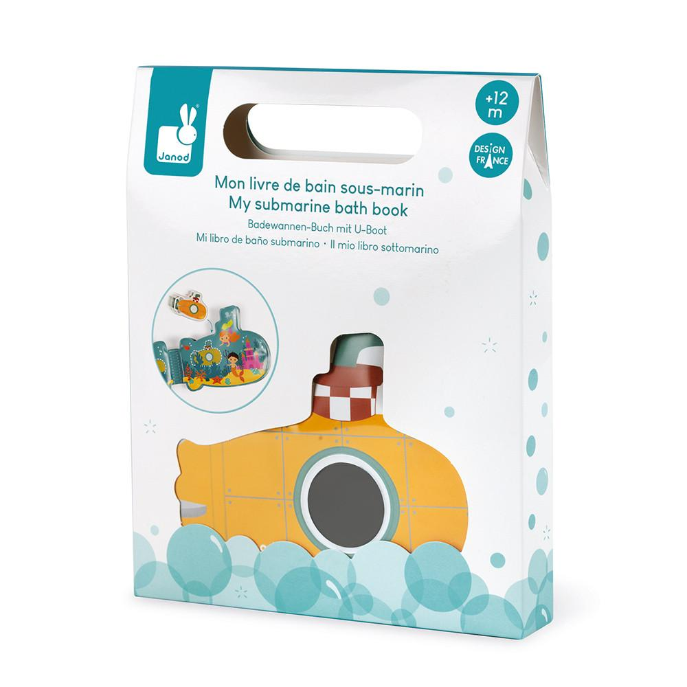 Janod Submarine Bath Book J04716 - Little Whispers