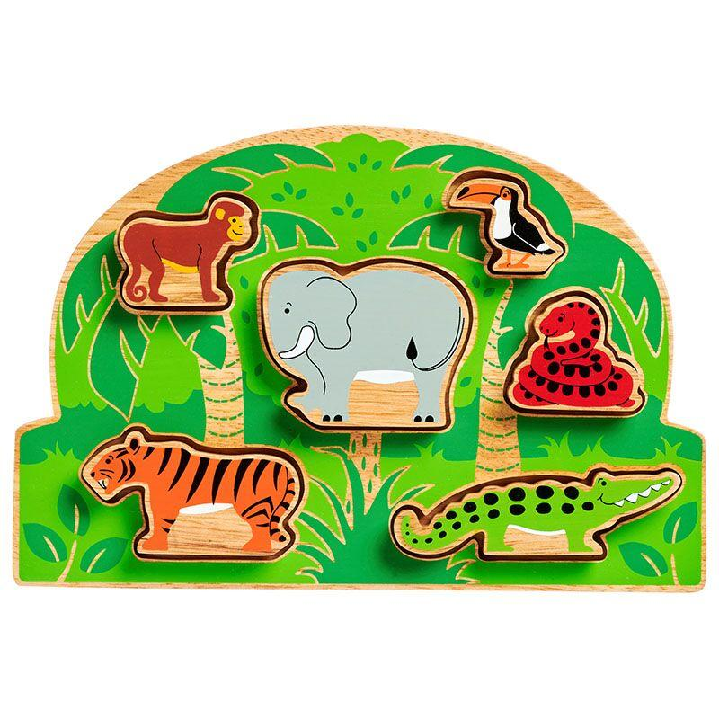 Lanka Kade Jungle Shape Sorter - Little Whispers