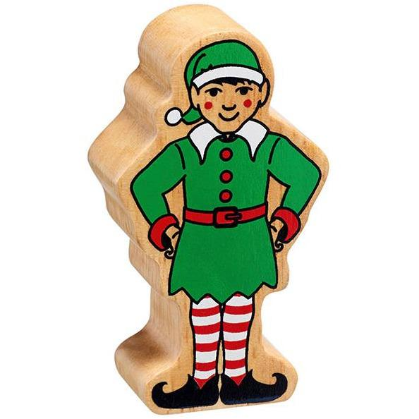 Lanka Kade Wooden Christmas Elf - Little Whispers