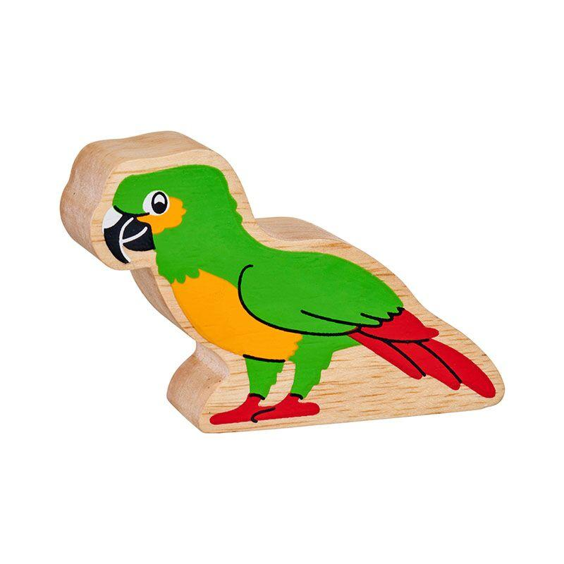 Lanka Kade Wooden Parrot - Little Whispers