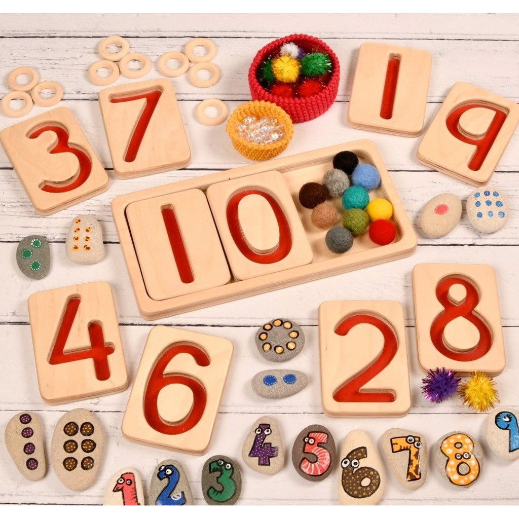 Learn Well Number Trays 10-20 - Little Whispers