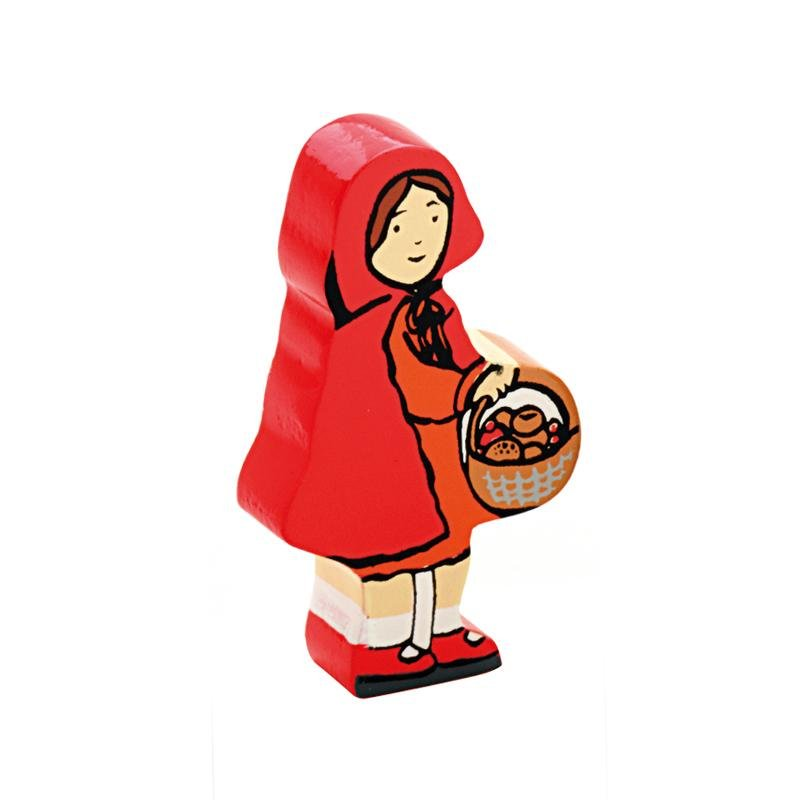 Little Red Riding Hood Wooden Characters - Little Whispers