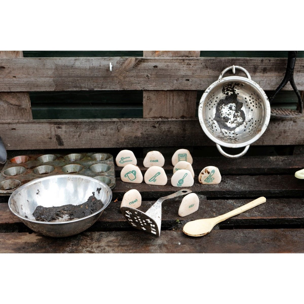 Mud Kitchen Sequencing Stones - Little Whispers
