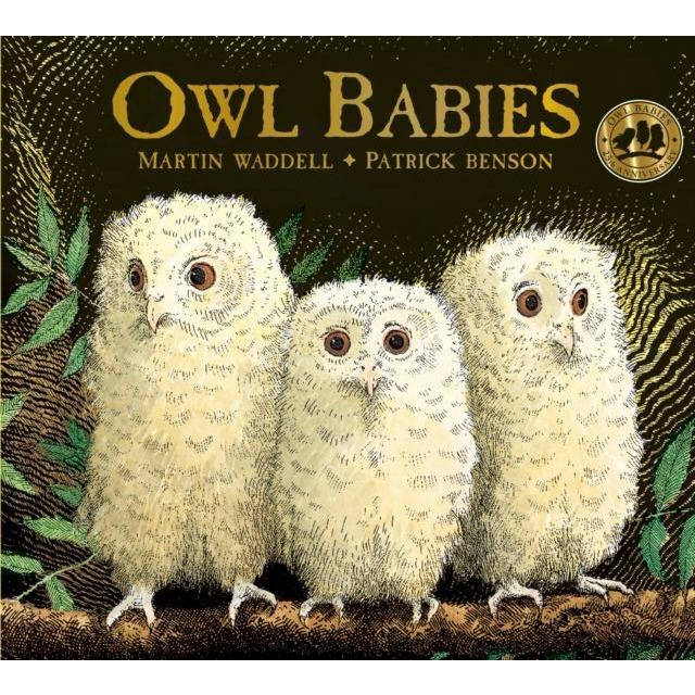 Owl Babies 25th Anniversary Edition Board Book - Little Whispers