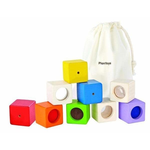 Plan Toys Activity Blocks - Little Whispers