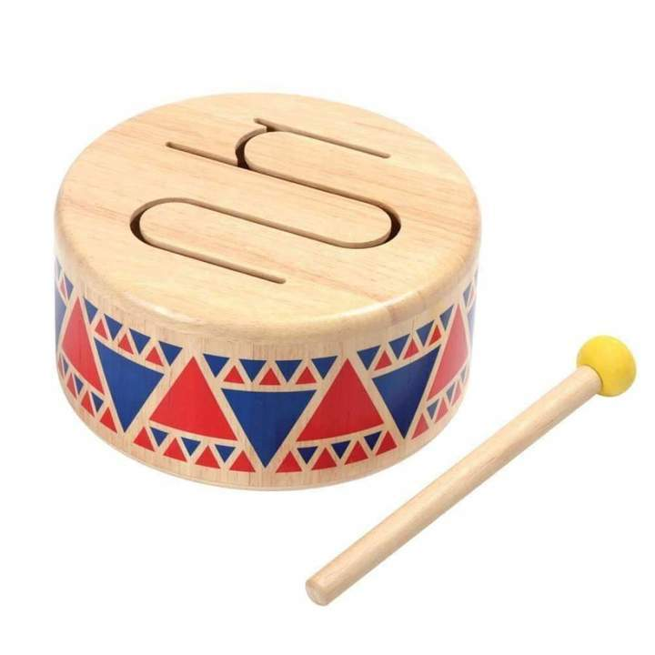 Plan Toys Solid Drum - Little Whispers
