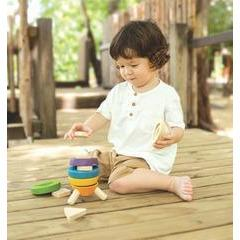 Plan Toys Stacking Rocket - Little Whispers