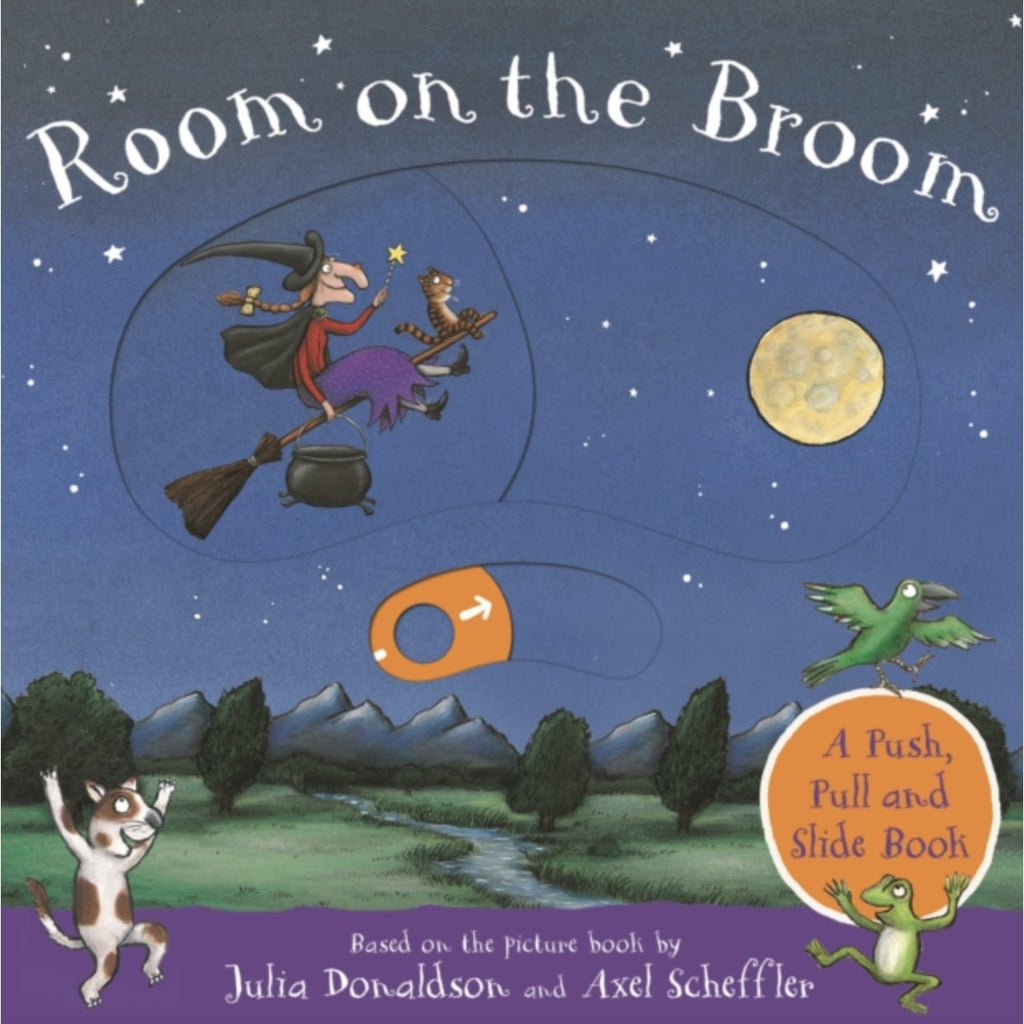 Room on the Broom Board Book - Little Whispers