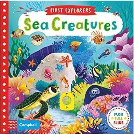 Sea Creatures Board Book - Little Whispers
