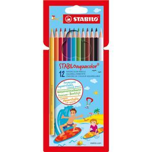 Stabilo Aquacolor Magic Watercolour Pencils pack of 12 - Little Whispers