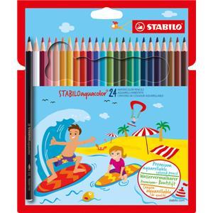 Stabilo Aquacolor Magic Watercolour Pencils pack of 24 - Little Whispers