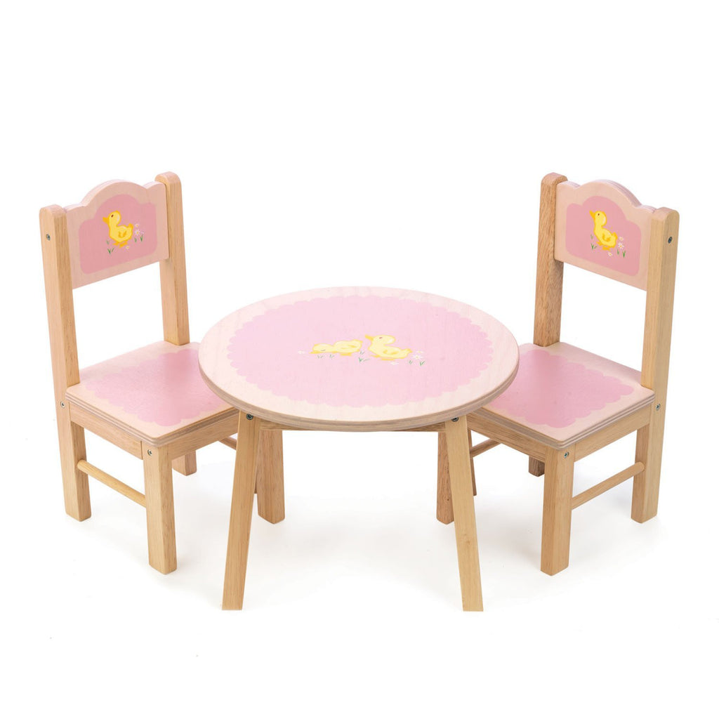 Tender Leaf Sweetiepie Table and Chairs - Little Whispers