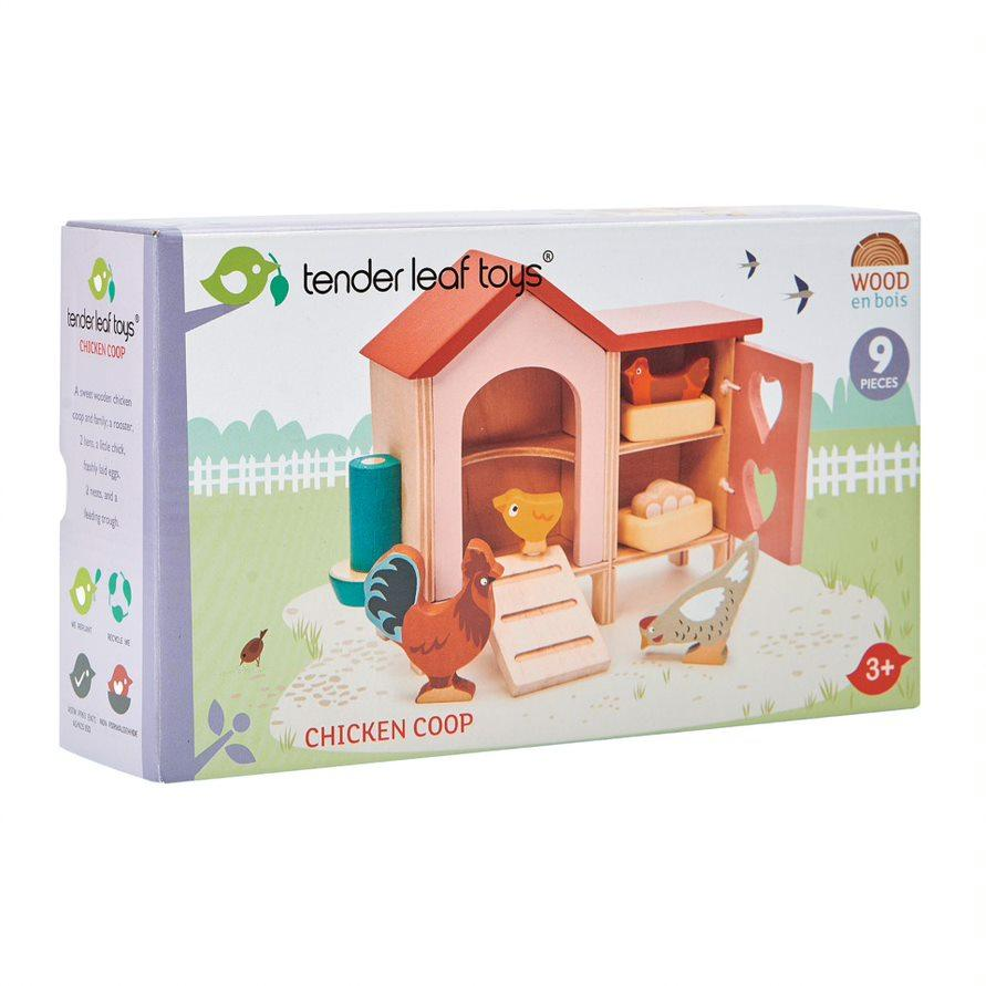 Tender Leaf Toys - Chicken Coop - Little Whispers