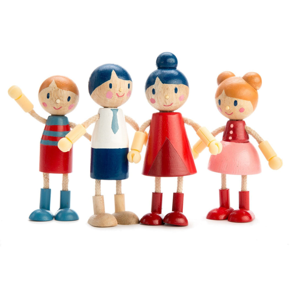 Tender Leaf Toys Doll Family TL8142 - Little Whispers