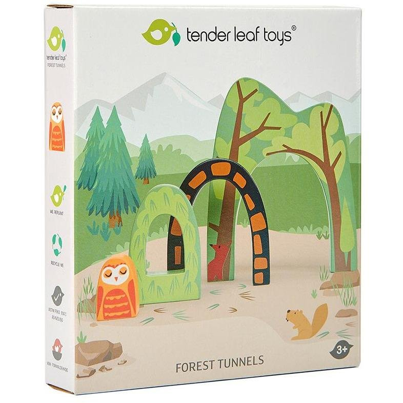 Tender Leaf Toys Forest Tunnels - Little Whispers