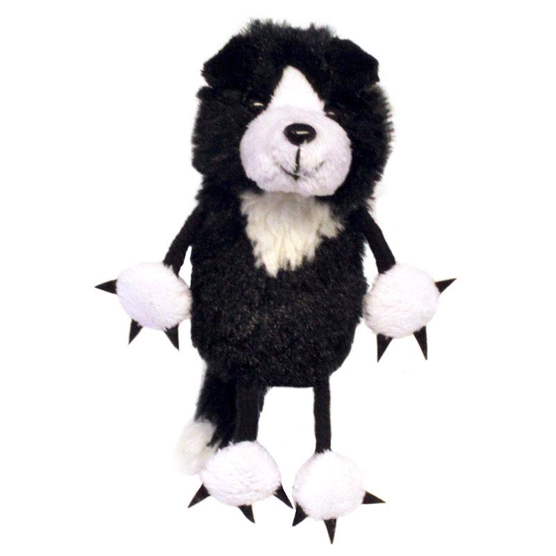 The Puppet Company Border Collie Finger Puppet - Little Whispers