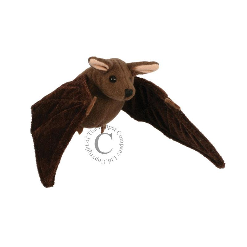 The Puppet Company Brown Bat Finger Puppet - Little Whispers