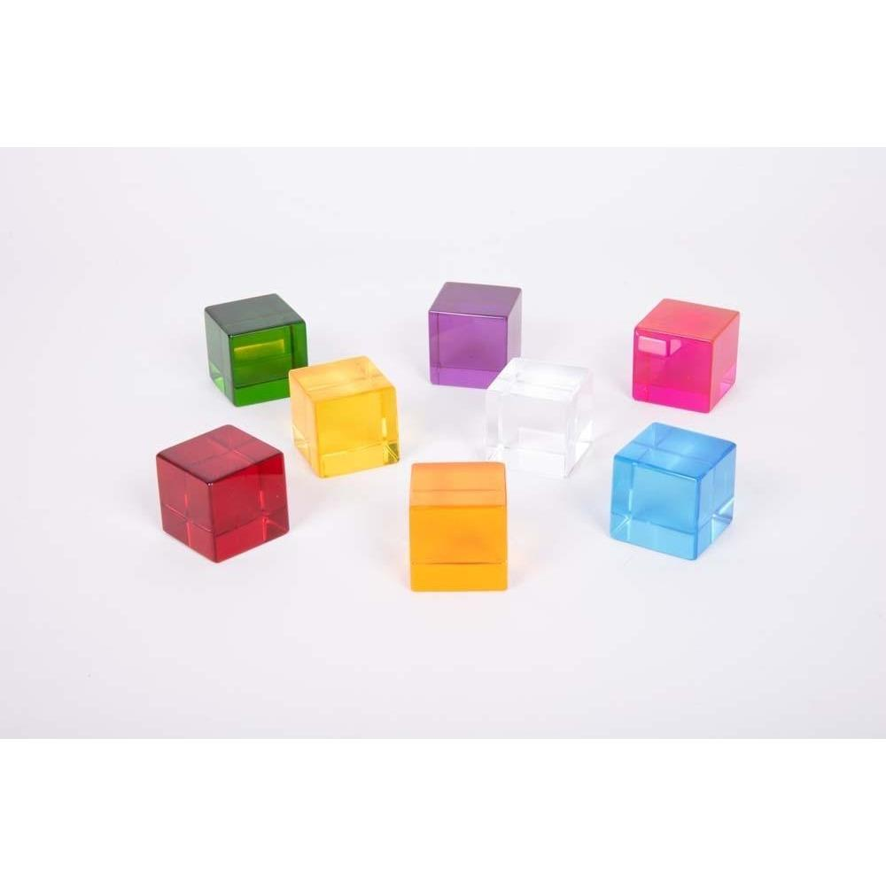 TickiT Perception Cubes Set Of 8 - Little Whispers