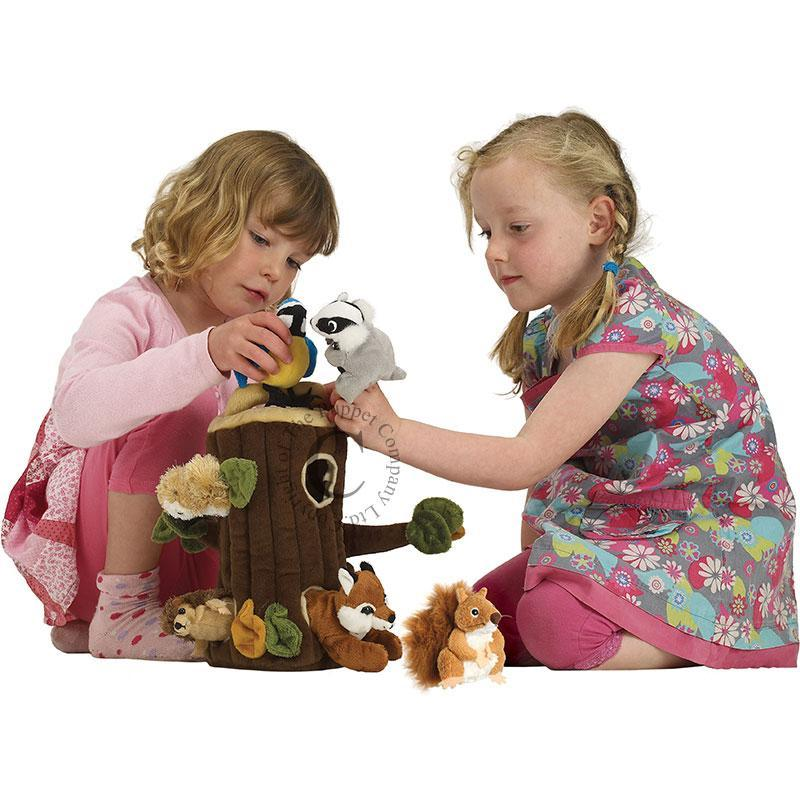 Tree House Hideaway Puppets - Little Whispers