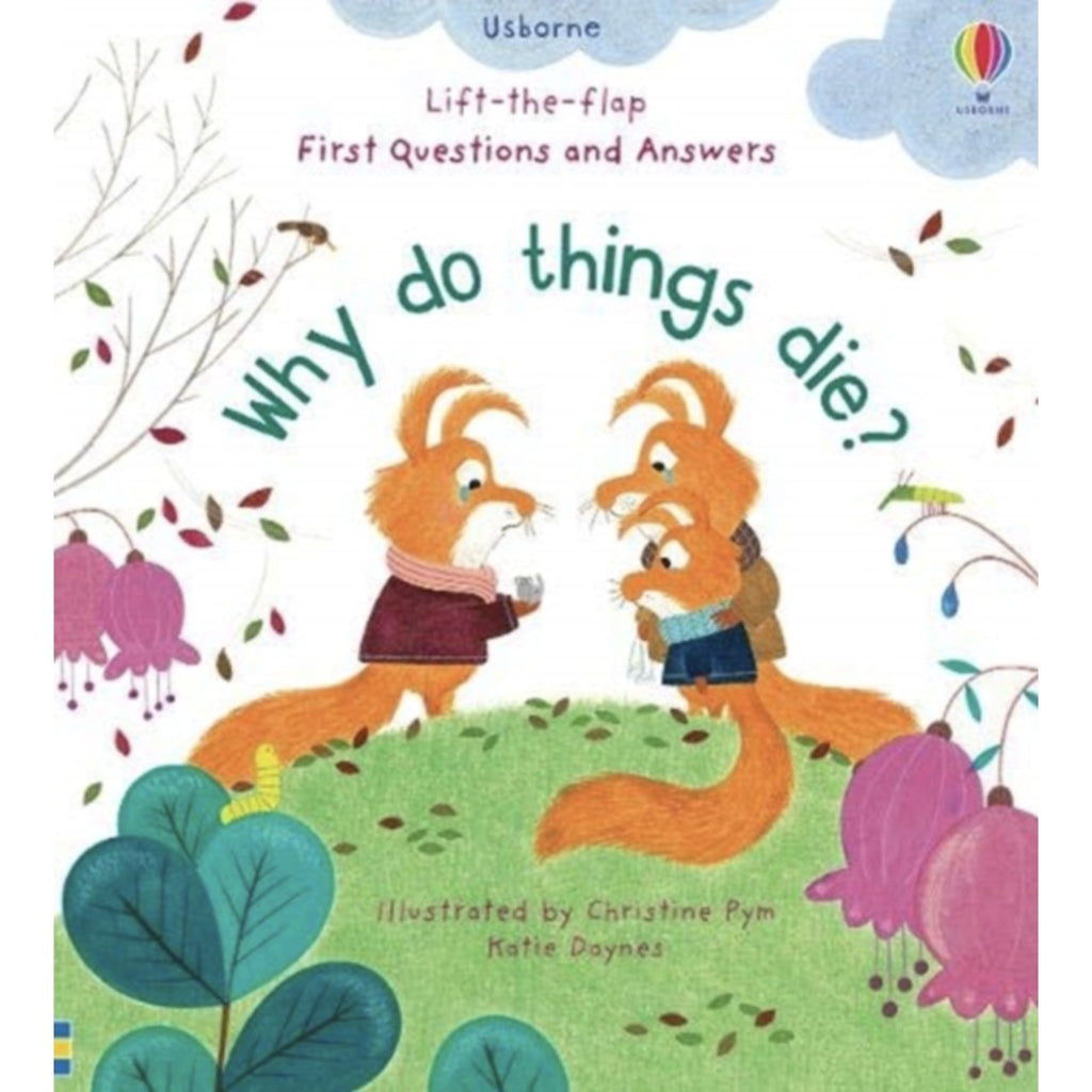Why Do Things Die Board Book? - Little Whispers