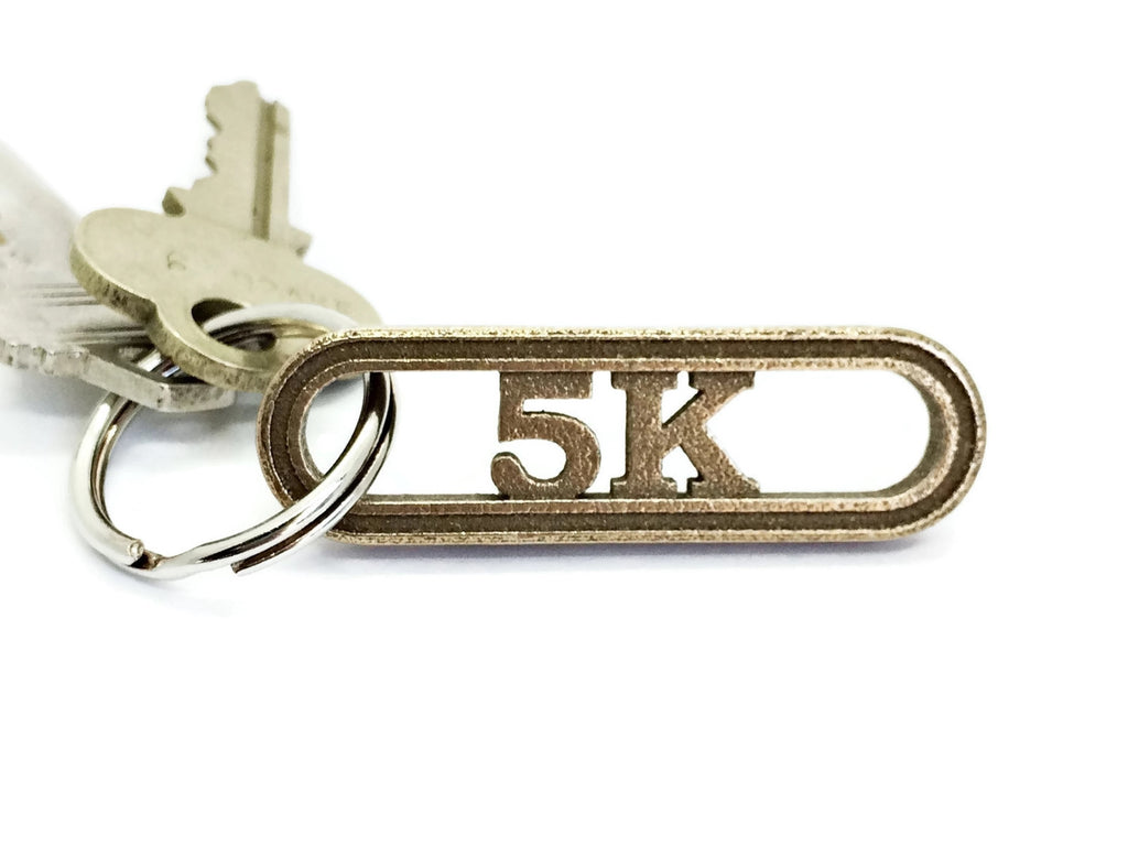 5K keychain gift for runners - RunFoundry keychains
