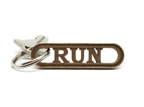 RUN keychain - For the runner in your life!