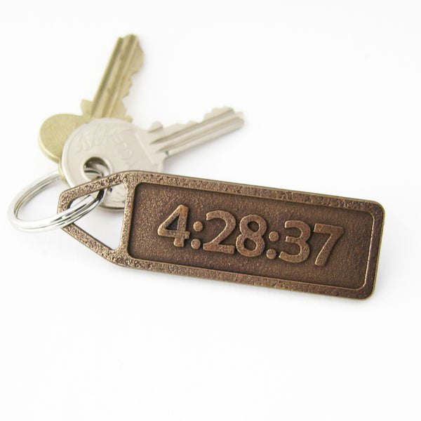 Personalized Keychain from RunFoundry - Make it yours!