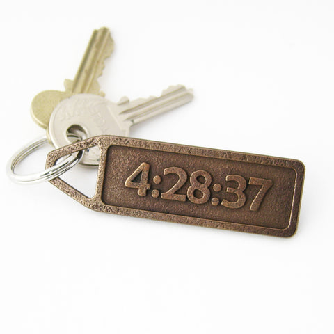Custom Keychain - Make it Personal!