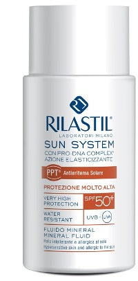 RILASTIL SUN SYSTEM PHOTO PROTECTION THERAPY SPF50+ FLUIDO M INERAL 50 ML