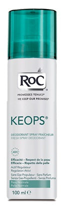 ROC KEOPS DEOD SPRAY FRESH 100