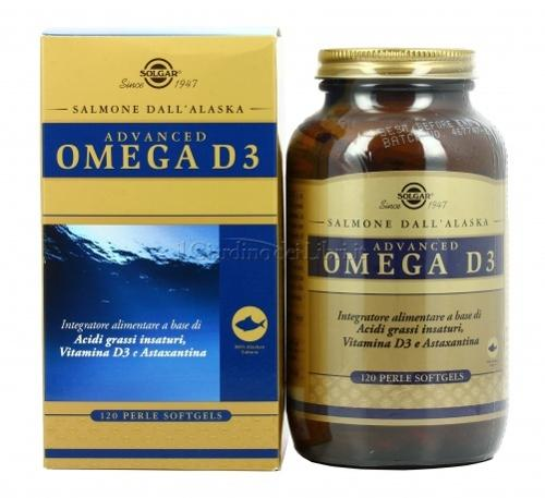 OMEGA D3 ADVANCED 120PRL