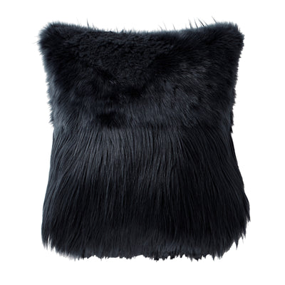"Grayson 18"" x 18"" Faux Fur Pillow"
