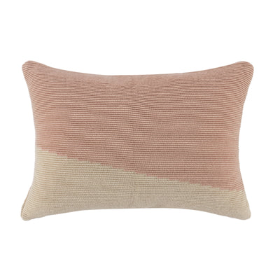 "Habit 14"" x 20"" Color Block Pillow"
