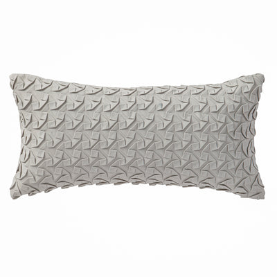 "Adelais 11"" x 22"" Textured Pillow"