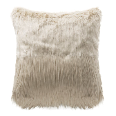 "Esme 18"" x 18"" Faux Fur Pillow"
