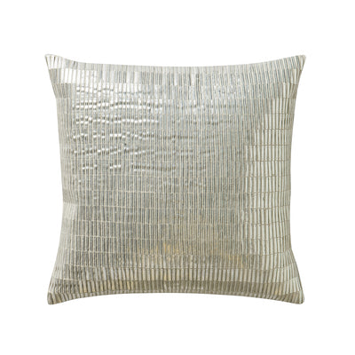"Driftwood 14"" x 14"" Paillettes Pillow"