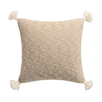 "Habit 20"" x 20"" Knit Pillow"