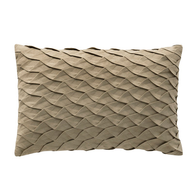 "Madrid 12"" x 18"" Pleated Pillow"