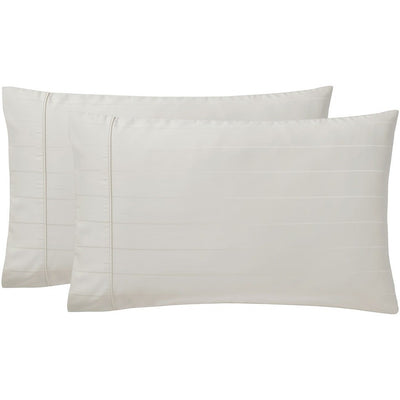 Sullivan Pinstripe 600TC Sateen Pillowcase Pair