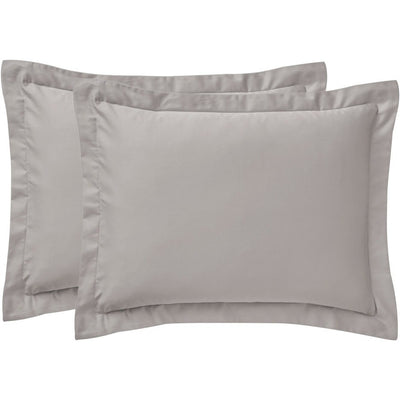 Sullivan Solid 400TC Sateen Sham Pair