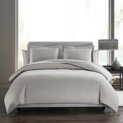 Sullivan Solid 400TC Sateen Duvet Cover & Shams Set