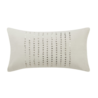 "Theo 11"" x 20"" Sequin Pillow"