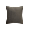 "Theo 18"" x 18"" Faux Suede Pillow"